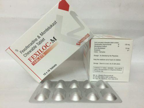 Fexofenadine & Montelukast chewable tablet