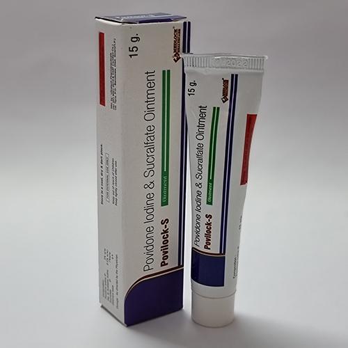 Povidone Iodine 5% + Sucralfate 7% Ointment